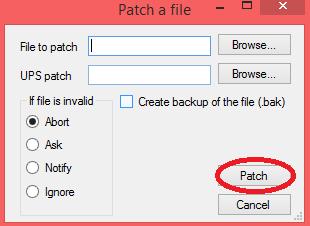 parchear hack- Paso