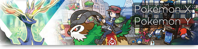 Pokemon X Y banner